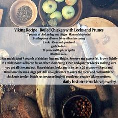 Daily Histoire | Viking Age Recipes More...