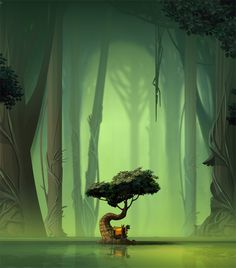Animation Backgrounds on Behance