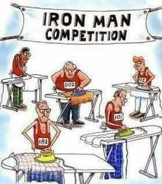 Hahaha, I would so ace this race!