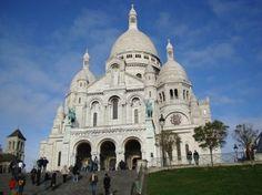 Basilica of Sacre-Coeur, Montmartre, Paris