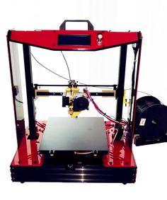 346.48$  Buy here - Large Reprap Prusa mendel  i4 Semi assembled imprimante 3d Machine Metal  Printer Dreamer Elektronic Diy Kit  Aluminum frame   #buychinaproducts