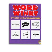 Everyone loves these visual wordplay puzzles, where a common phrase or expression is represented by illustrated words. Word Winks contains 300 brain-twisters, some immediately obvious, while others might have you stumped for a while! 56 pages. Reproducible.