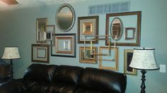 Goodwill - Frames & Mirrors arranged for collage