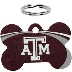 Every Aggie dog can maroon out with this personalized Texas A&M pet ID tag!