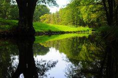 The Canals in Lübbenau Spreewald, Brandenburg, Germany