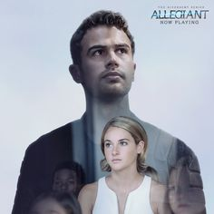 After the earth-shattering revelations of INSURGENT, in ALLEGIANT Tris [Shailene Woodley] must escape with Four [Theo James] beyond the wall that encircles Chicago to finally discover the shocking. Divergent Fandom, Divergent Funny, Divergent Trilogy, 2 Movie, Series Movies, Book Series, Tris And Four, In Theaters Now, Divergent Insurgent Allegiant