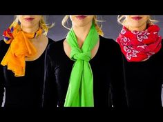 There is a number of terribly stylish and unique ways to tie a scarf! You can even turn a scarf to a сomplete outfit! Go ahead and try out these ideas! Ways To Tie Scarves, Ways To Wear A Scarf, How To Wear Scarves, Costura Fashion, Scarf Knots, Clothing Hacks, Fashion Sewing, Fashion Looks, Fashion Tips
