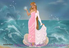 Azaleas Dolls' Goddess Maker: Aphrodite  Aphrodite's Daughter photoshopping