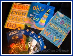 Leettle House In Kentucky: Oh! The Places You'll Go! Back To School Giveaway Hop - Enter To Win A Dr. Seuss & Bendon Book Prize Pack!