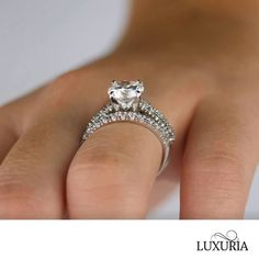 Fake Diamond Rings that look REAL from Luxuria Diamonds Cubic Zirconia Engagement Rings, Diamond Engagement Rings, Wedding Rings, Wedding Veil, Wedding Stuff, Wedding Photos, Dream Wedding, Wedding Ideas, Bridal Bangles