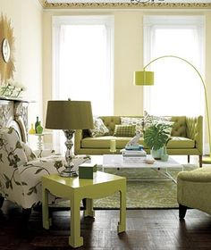 Embrace robust colors. (Green has actually been shown to create a sense of calm and comfort.)