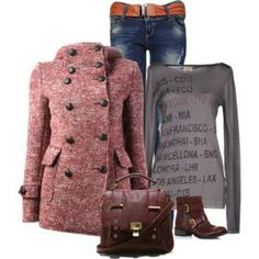 I want everything the coat, shirt, pants, shoes and bag!!!