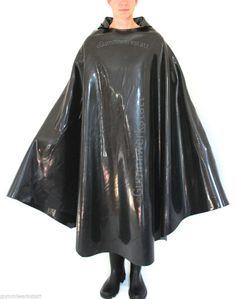 Gummicape Gummiponcho Regenumhang Gummi Rubber Cape Poncho Gewand Mantel in Kleidung & Accessoires, Kostüme & Verkleidungen, Accessoires | eBay