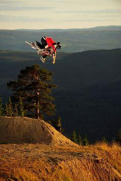 Mountain Bike Jumps #NowTHATwouldbeintense  #BikeWeek