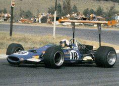BASIL VAN ROOYEN McLaren M7A Kyalami RSA 1969