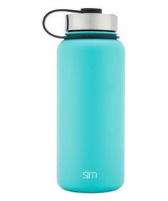 Caribbean Blue 32-Oz. Vacuum Insulated Flip Lid 8'' Summit Bottle