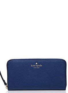 Kate Spade New York Lacey Wallet Ocean Blue