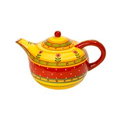 Lovely pottery teapot from Festin Coquin