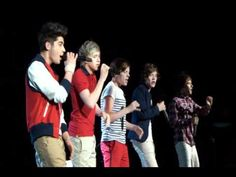 Use Somebody (vocals only) - One Direction (Up All Night: The Live Tour)