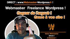 Webmaster Freelance - Webmaster Wordpress freelance paris. Coaching, Wordpress, Le Web, Paris, Memes, Internet Money, Marketing And Advertising, Earning Money, Training