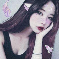 Korean Aesthetic, Aesthetic Girl, Cute Korean Girl, Asian Girl, Instagram Makeup Looks, Girl Korea, Korean Ulzzang, Uzzlang Girl, Cosplay