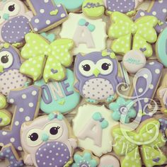 LC Sweets - Whoooo loves owls and bows?  This girl! #lcsweets...