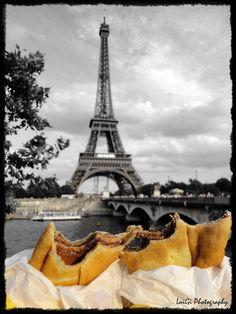 Paris: L´amour et le crêpe au chocolat..