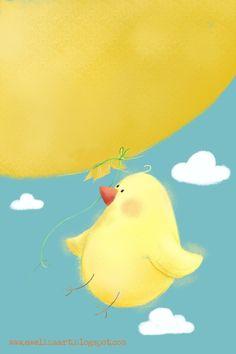 Moja twórczość: Lot balonem