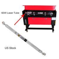 Refroidissement par eau tube laser CO2 60W Tube de laser Longueur 1000 mm 20 KV Laser Co2, Gym Equipment, Tube