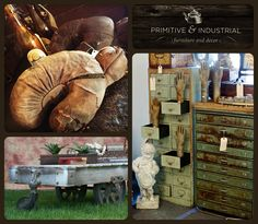 """We are announcing the fabulous vendors for our June 5th-7th 2015 show, beginning with a few new dealers...next up is """"Primitive and Industrial"""", Welcome!"""