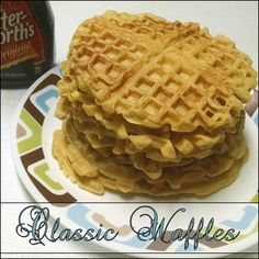 My first attempt at waffles. Used a much suggested & (in my opinion) fool-proof recipe. They turned out great! #MyAllrecipes