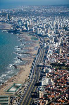Vista de la ciudad de Mar del Plata - Buenos Aires