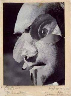 inneroptics:  Raoul Hausmann Raoul Hausmann, Hans Richter, Institutional Critique, Hans Arp, Berlin, Francis Picabia, Marcel Duchamp, Alfred Stieglitz, Action Painting