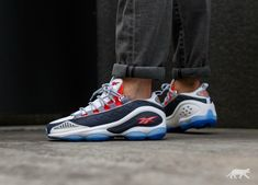 Reebok // Reebok DMX Run 10 *OG* (White / Ice Blue / Cherry / Silver)