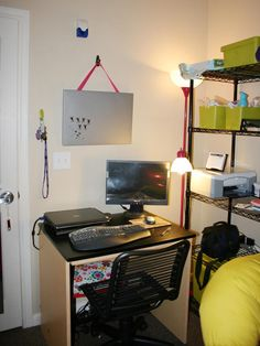 shelving unit Great Dorm Room Storage From Rate My Space : Rooms : Home & Garden Television