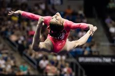 Laurie Hernandez - Day 1 P&G Gymnastics Championships Gymnastics Facts, Gymnastics Images, Gymnastics Quotes, Artistic Gymnastics, Olympic Gymnastics, Olympic Team, Gymnastics History, Elite Gymnastics, Gymnastics Posters