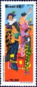 Sello: Theater (Brasil) Mi:BR 2286,Yt:BR 1903,RHM:BR C-1618