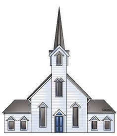 christian country graphics | Free Christian Clip Art: Rural Church ...