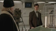 "Matt Smith makes a surprise cameo in ""An Adventure in Space and Time""."