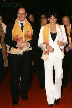 princesse Stéphanie de Monaco et son frère le Prince Albert