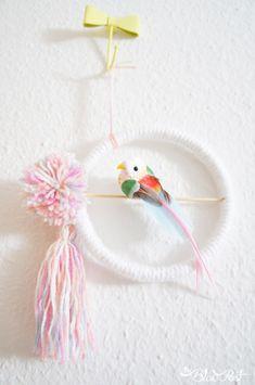 DIY Coletivo: guirlanda/móbile de passarinho