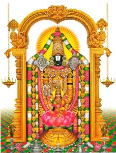 Lord Venkateshwara and Devi Padmavati - TemplePurohit - Your Spiritual Destination Lord Shiva Hd Wallpaper, Ganesh Wallpaper, Lord Shiva Painting, Ganesha Painting, Tanjore Painting, Lord Murugan Wallpapers, Lord Krishna Wallpapers, Tirumala Venkateswara Temple, Lord Krishna Images