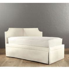 Isabella Left Corner Daybed with Trundle. This would be perfect for my baby girl!