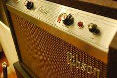Showcasing the Vintage Guitar Amplifiers at One Flight Up Recording Studios. Skylark, Vintage Guitars, Recording Studio, Marshall Speaker, Studios, Guitars, Music Studios