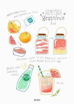 full of kiyowo doodle recipe Cartoon Recipe, Recipe Drawing, Street Art Graffiti, Sketch Note, Dessert Illustration, Food Doodles, Watercolor Food, Food Painting, Food Journal