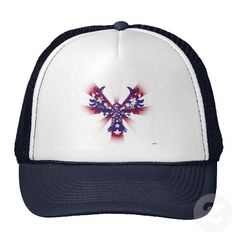 American Eagle Stars & Stripes Hats   •   This design is available on t-shirts, hats, mugs, buttons, key chains and much more   •   Please check out our others designs at: www.zazzle.com/ZuzusFunHouse*