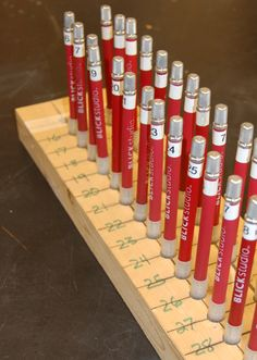 What's Your Number? Labeling Student Art Supplies | The Art of Ed