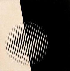 'Desenho nº 1' (1969) by Austrian-born, São Paolo-based painter Lothar Charoux (1912-1987). via Galeria de Imagens