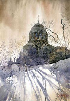 """""""Winter Shadows"""" - Grzegorz Wrobel"""