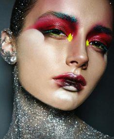 Want to know more about best makeup techniques - Make-Up Techniken Edgy Makeup, High Fashion Makeup, Dramatic Makeup, Makeup Goals, Makeup Inspo, Makeup Art, Beauty Makeup, Makeup Ideas, Makeup Geek